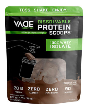 Vade Nutrition - 100% Whey Isolate