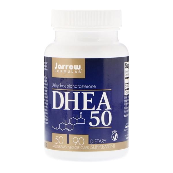 Jarrow Formulas, DHEA 50, 50 мг, 90 капсул