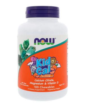 Now Foods, Kid Cal (100 жевательных таблеток)