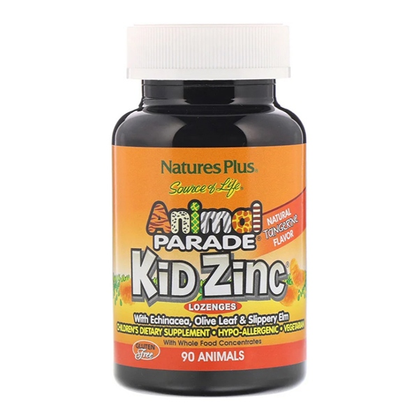21st Century,Nature's Plus, Kid Zinc Lozenges, (90 Animal-Shaped Lozenges)
