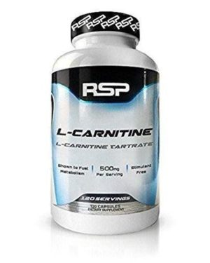 RSP, L-carnitine 500mg (120caps)