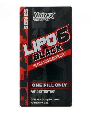 Lipo-6 Black Ultra Concentrate (60caps)