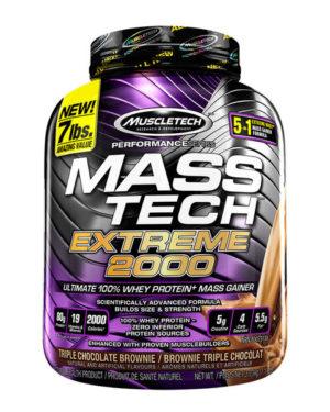 Muscletech, Mass-Tech, продвинутый гейнер для роста мышечной массы