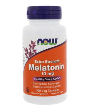 Now Foods, Мелатонин 10 мг, 100 капсул