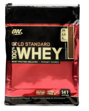 Optimum Nutrition, 100% Whey Gold Standard (4540g)