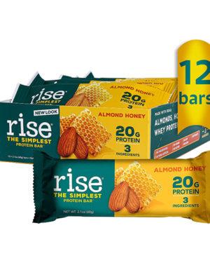 "Rise Bar Rise Protein Bar ""Миндальный мед"""