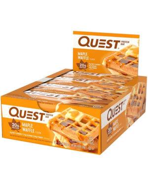 """Quest Bar Протеиновые батончики """"Кленовая вафля"""""""