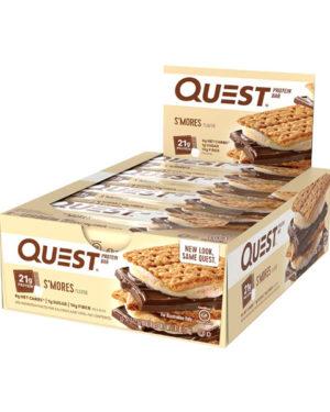 "Quest Bar Протеиновые батончики ""S'mores flavor """