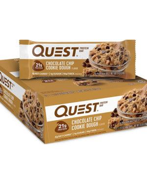 """Quest Bar Протеиновые батончики """"Тесто шоколадного печенья"""""""