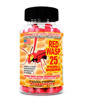 Red wasp (75 caps)