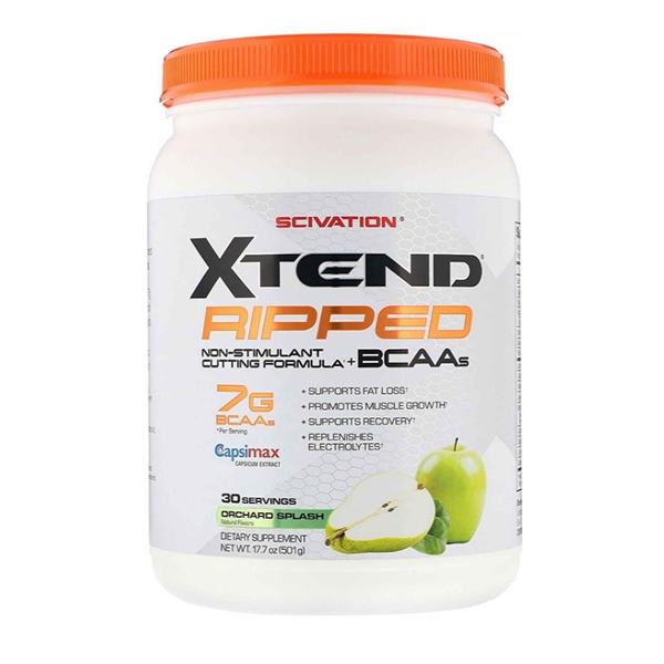 Scivation, Xtend Ripped, 7G BCAAs, Orchard Splash (501 g)