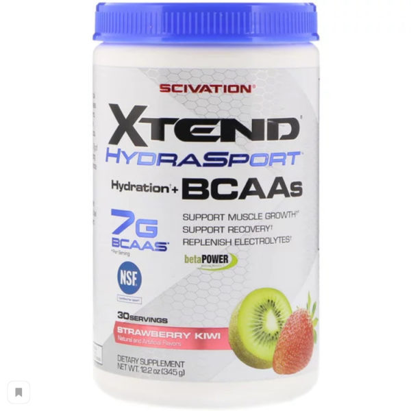 Scivation, Xtend HydraSport, Hydration + BCAAs