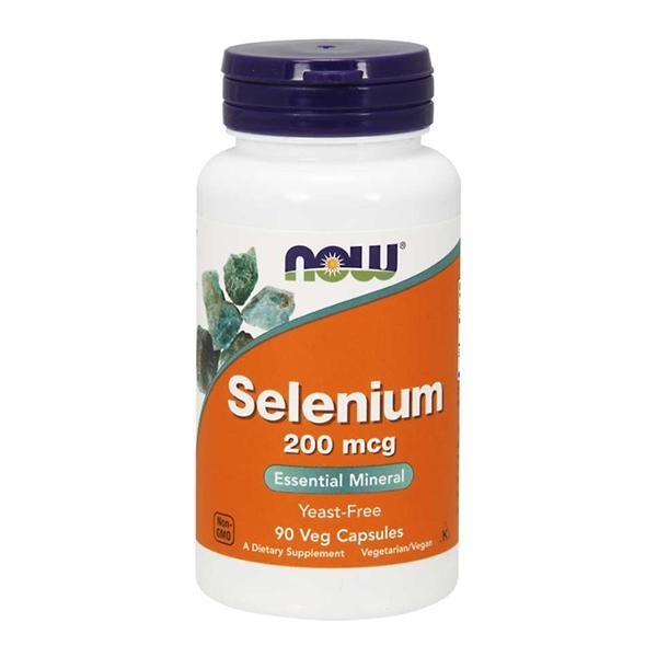 Now Foods, Selenium, 200 mcg, 90 Veg Capsules