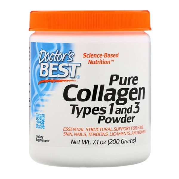Doctor's Best, Pure Collagen Types 1 and 3 Powder, 7.1 oz (200 g)