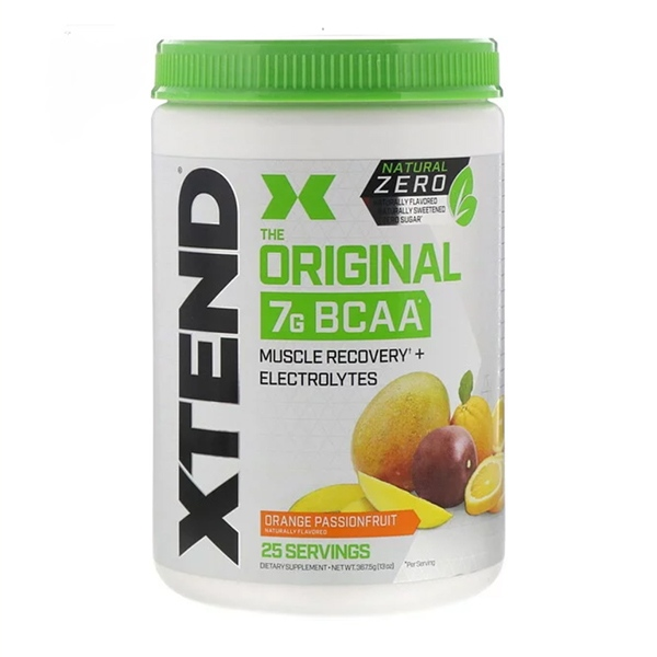 Scivation, Xtend, The Original 7G BCAA, Natural Zero, Orange Passionfruit, 13 oz (367.5 g)