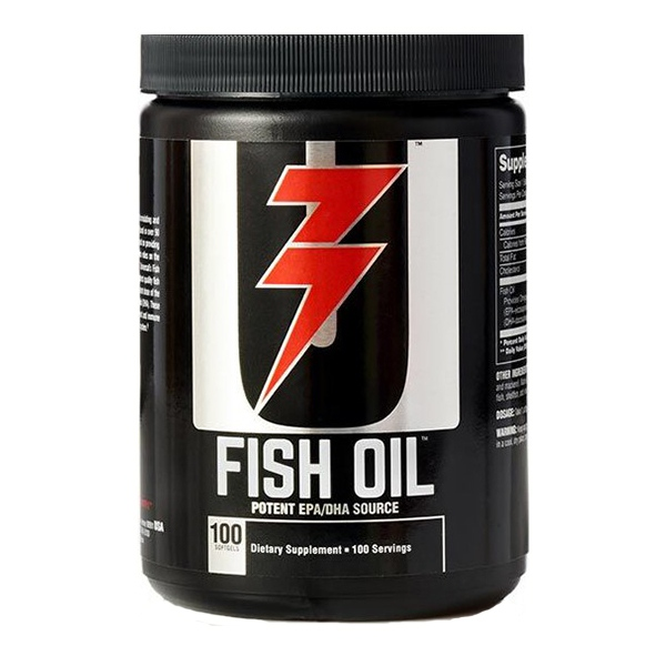 Universal fish oil 100 softgels