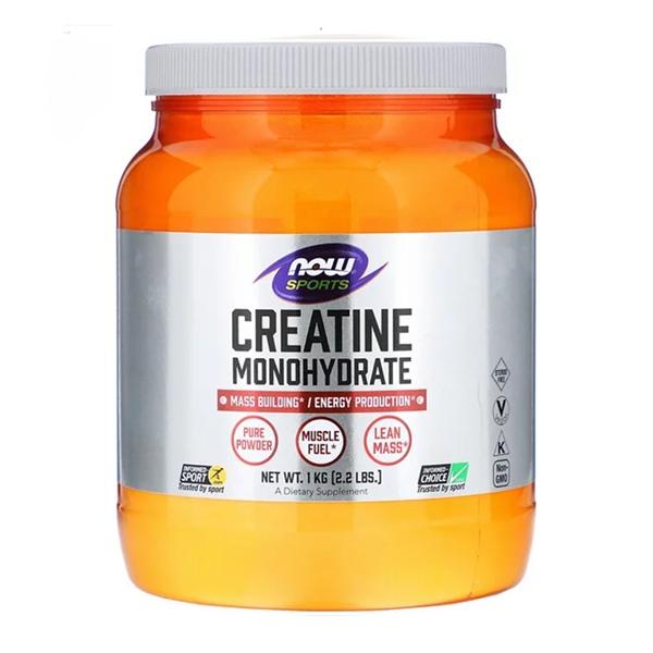 Now Foods, Sports, Моногидрат креатина, 2,2 фунта (1 кг)