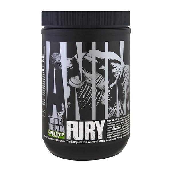 Universal Nutrition FURY,  полный набор для тренировок, 495.9 г