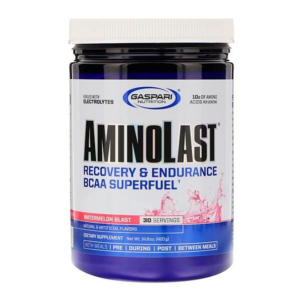 Gaspari Nutrition, Aminolast, супер-BCAA  420 г