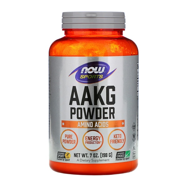 Now Foods, Sports, AAKG Pure Powder, 7 oz (198 g