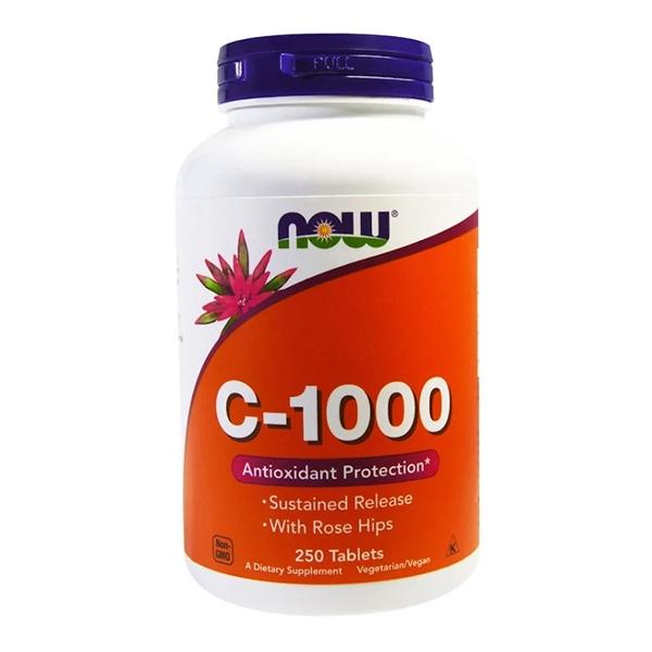 Now Foods, C-1000, 250 таблеток