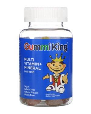 GummiKing, Multi-Vitamin + Mineral for Kids, 60 Gummies