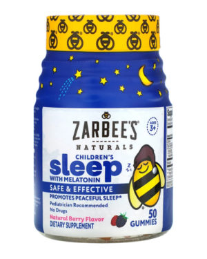 Zarbee's, Children's Sleep with Melatonin, 50 Gummies