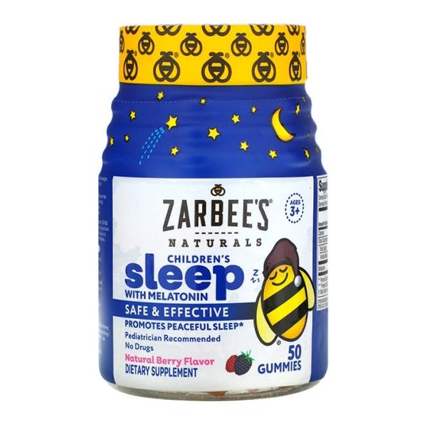 Zarbee's, Children's Sleep with Melatonin, 50 Gummies