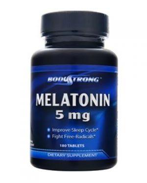 BodyStrong Melatonin 5mg (180таб)