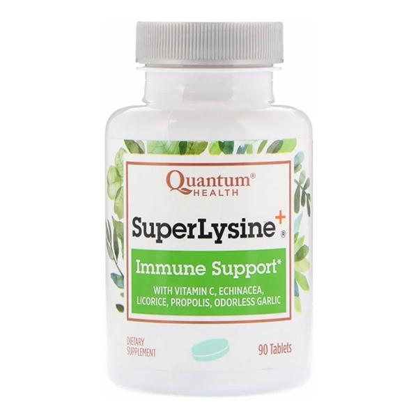 Quantum Health, Super Lysine+, Immune Support, 90 Tablets
