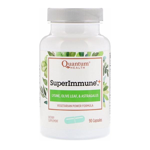 Quantum Health, Super Immune+, Vegetarian Power Formula, 90 Capsules