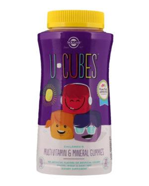 Solgar, U-Cubes, Children's Multi-Vitamin & Mineral Gummies, 120 Gummies