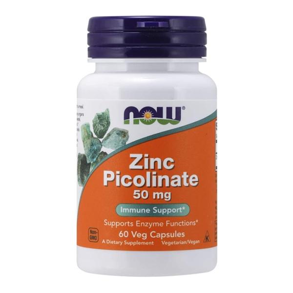 Now Foods, Zinc Picolinate, 50 mg, 60Veg Capsules