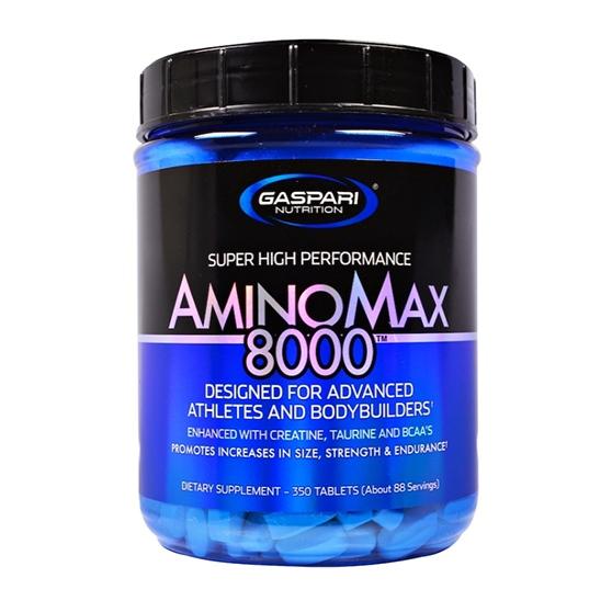 Gaspari Nutrition, Amino Max 8000, 350 Tablets