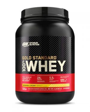 Optimum Nutrition, Gold Standard 100% Whey 2 lb (907 g)