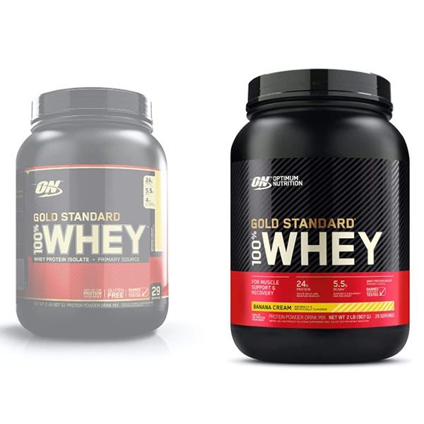 Gold Standard 100 % Whey DBL Rich Chocolate 2 LB