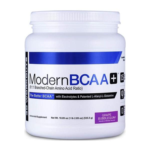 Modern BCAA + (BCAA) Muscle Grape Bubblegun 30 Servings