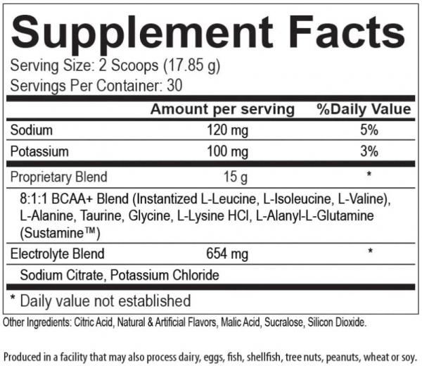 Modern BCAA + (BCAA) Muscle Green Apple 30 Servings