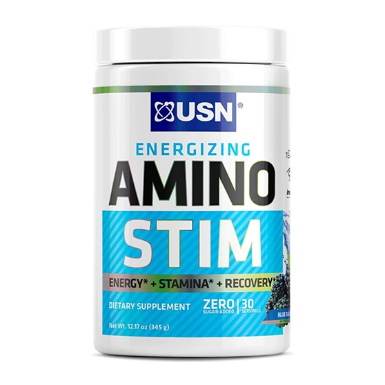USN Energizing Amino Stim Sugar Free Energy 30 Servings