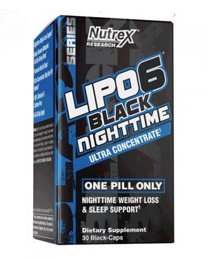 Nutrex Lipo-6 Black Nighttime