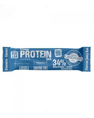 "Eco Nutrition Lab ProteinBar, Whey Protein+Casein ""Chocolate"" 50 g"