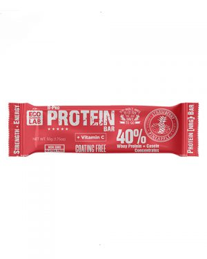 "Eco Nutrition Lab ProteinBar, Whey Protein+Casein ""Pineapple"" 50 g"