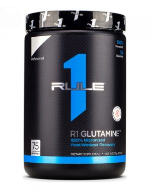 Rule One, Glutamine 375 g, 75 servings
