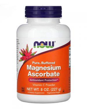 Now Foods, Pure, Buffered, Magnesium Ascorbate, 8 oz (227 g)