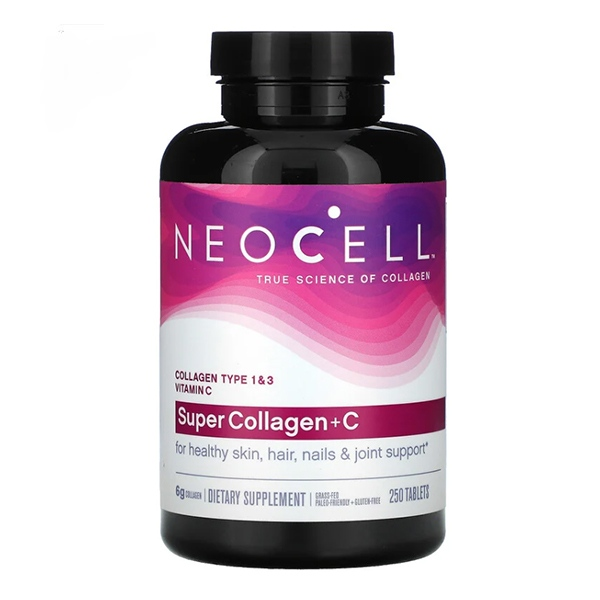 Neocell, Super Collagen + C, 250 Tablets