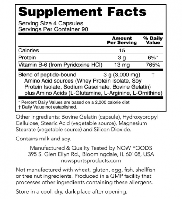 Now Foods, Sports, Amino Complete, 360 Veg Capsules