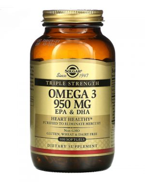 Solgar, Omega-3, EPA & DHA, 950 mg, 100+30 FREE Softgels