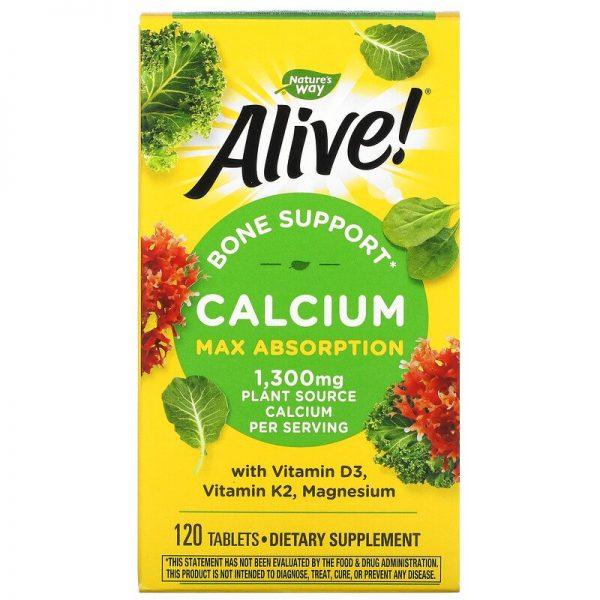 Nature's Way Alive Calcium 1,300 mg