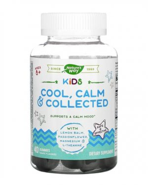 Nature's Way Cool, Calm Collected 40 Gummies