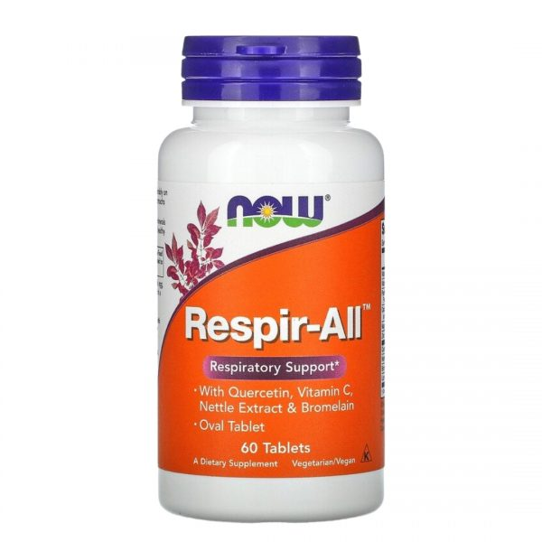 Now Respir-All 60 Tablets
